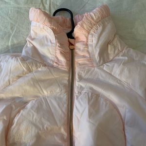 lululemon athletica Jackets & Coats - Lululemon Dusty Pink Downtown Down Puffer